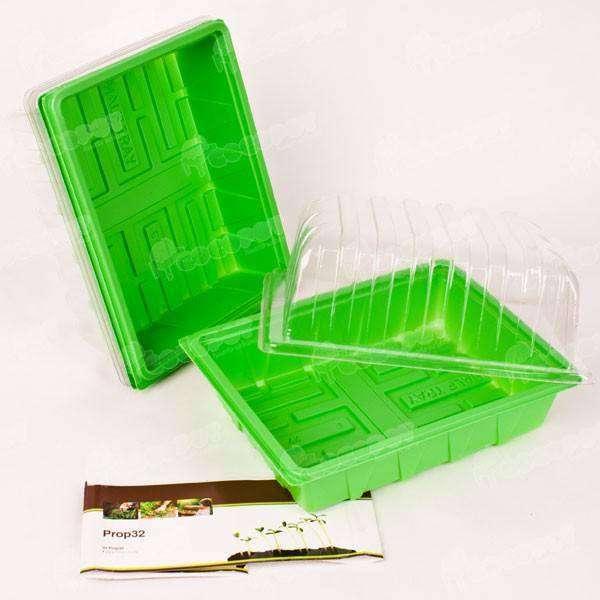 3 mini invernaderos germinador 23x18x13cm solo 6 95 en for Jardin vertical de fieltro en formato kit