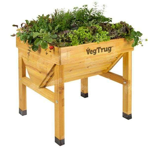 Mesa de cultivo vegtrug 75x70cm oferta en cocopot huerto - Mesa de cultivo leroy ...