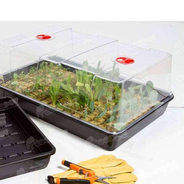 Semillero para siembra protegida 58x40x22 5cm 24 95 en for Jardin vertical de fieltro en formato kit