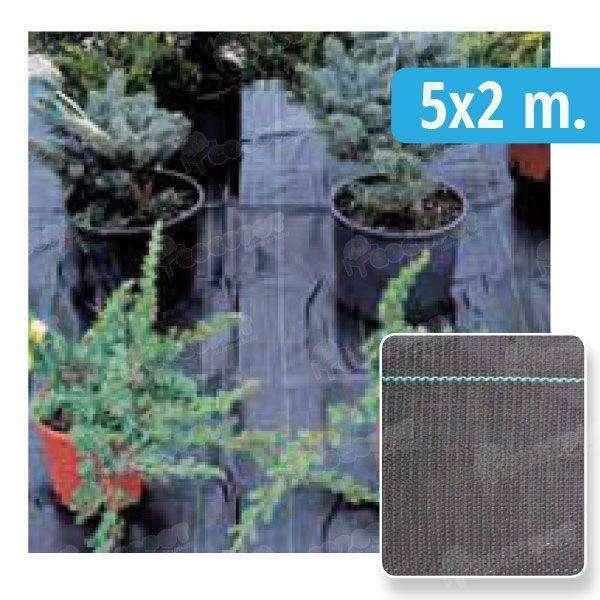 Malla antihierbas antigerminante 5x2m en cocopot huerto for Jardin vertical de fieltro en formato kit