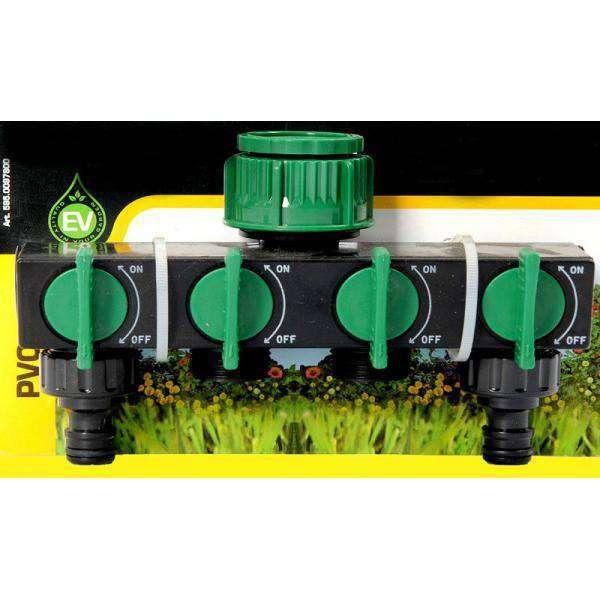 Adaptador v lvula 4 v as 1 2 y 3 4 riego del jard n en for Jardin vertical de fieltro en formato kit