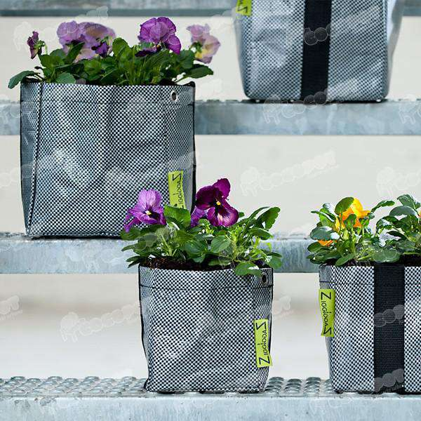 Macetas huerto y jard n ziggzagg solo 12 75 en cocopot for Jardin vertical de fieltro en formato kit