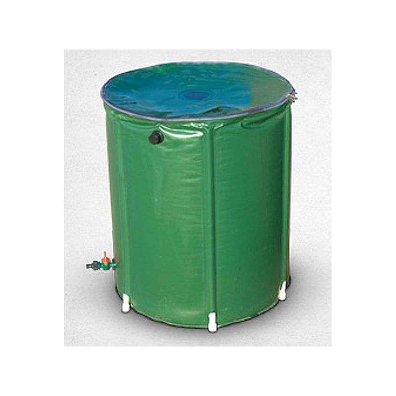 Recuperador agua lluvia 200 litros en cocopot huerto y jardin for Jardin vertical de fieltro en formato kit