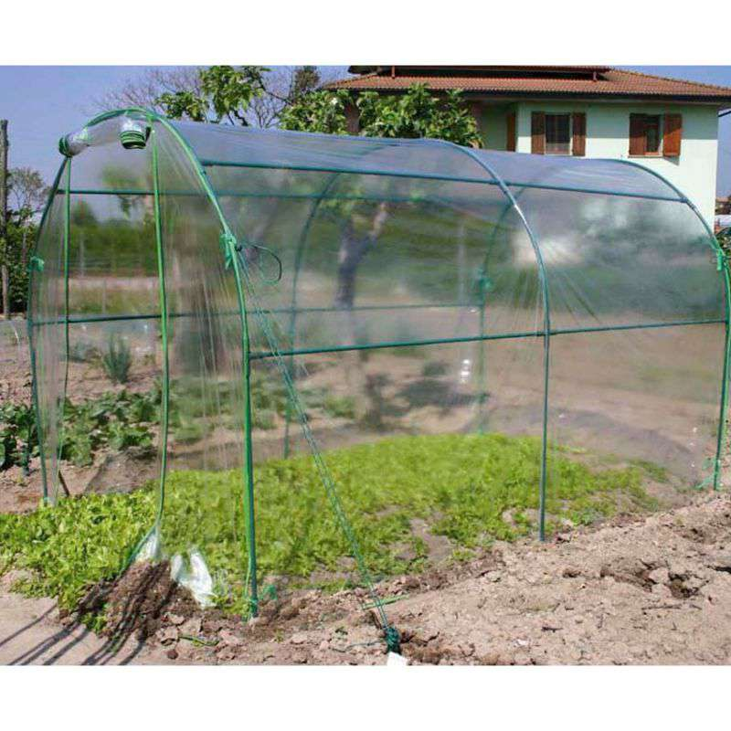 Invernadero huerto y jard n 3x2 metros en cocopot for Invernaderos de jardin