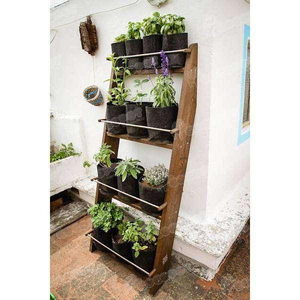 Jardin vertical escalera zurnek por 92 95 en cocopot for Jardin vertical de fieltro en formato kit