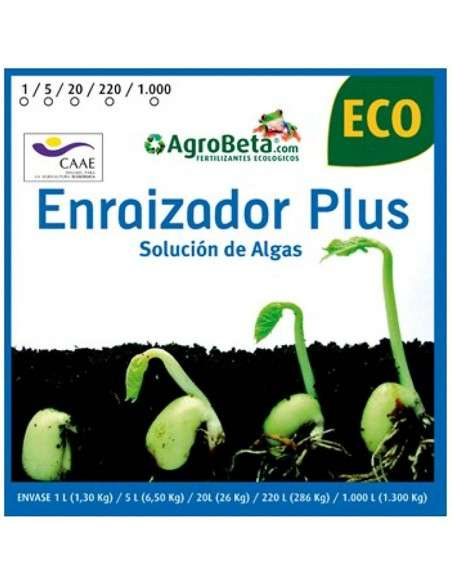Enraizador ECO Extracto de Algas 1 Litro COCOPOT - 2