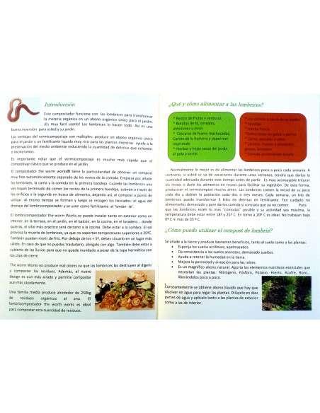 Vermicompostador Negro COCOPOT - 27
