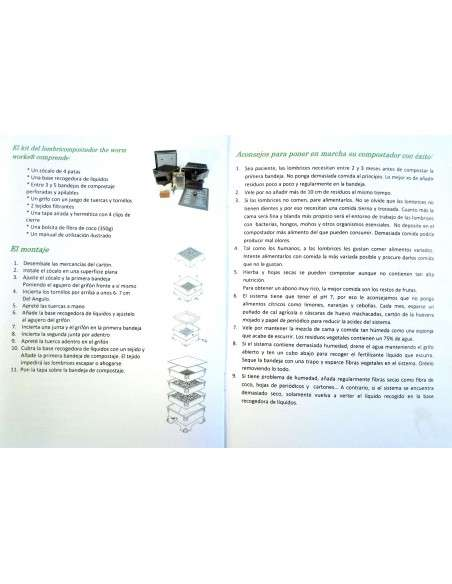 Vermicompostador Negro COCOPOT - 28