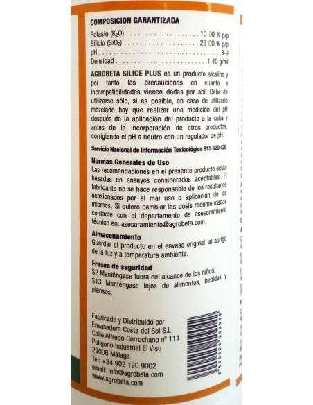Abono líquido Silice Plus ECO 1 Litro COCOPOT - 3