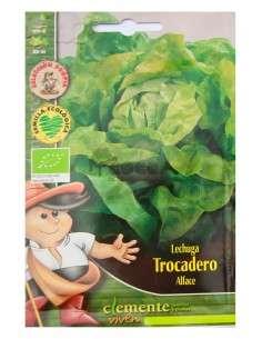 Semillas Ecológicas Lechuga Trocadero 3g