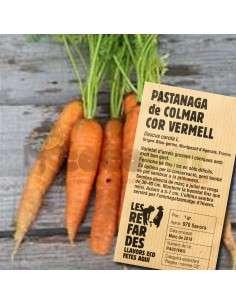 Semillas Ecológicas Zanahoria de Colmar Roja