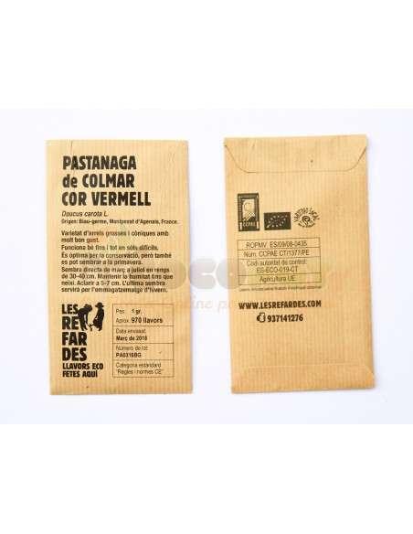 Semillas Ecológicas Zanahoria de Colmar Roja LES REFARDES - 2