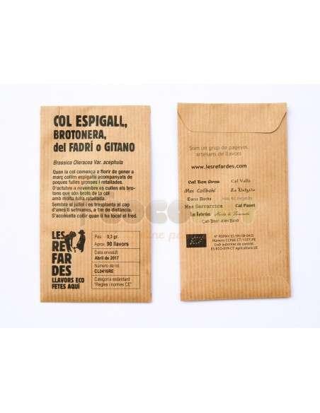 Semillas Ecológicas Col Espigall o Gitano LES REFARDES - 2