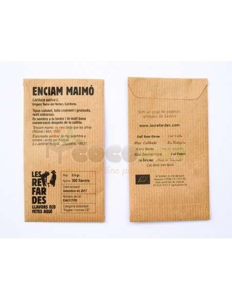 Semillas Ecológicas Lechuga Maimo LES REFARDES - 2