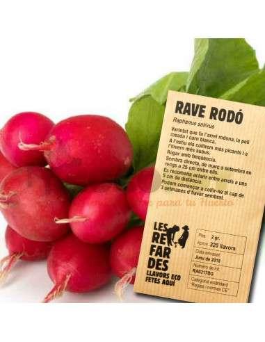 Semillas Ecológicas Rabanito Redondo