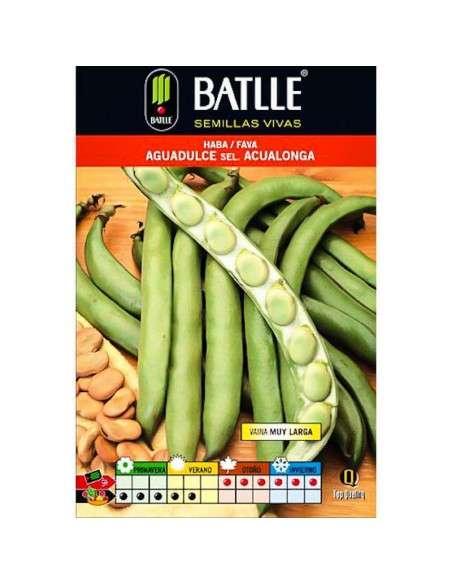 Semillas de Haba Aguadulce Acualonga 100gr. Semillas Batlle - 1