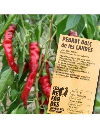 Semillas Ecológicas de Pimiento Dulce de las Landas LES REFARDES - 1