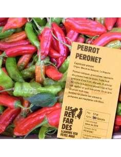 Semillas Ecológicas de Pimiento Picante Peronet LES REFARDES - 1