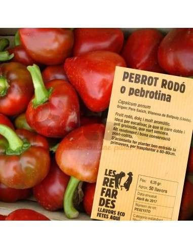 Semillas Ecológicas de Pimiento Redondo LES REFARDES - 1