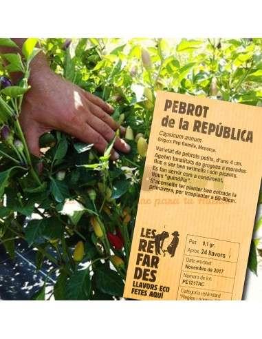 Semillas Ecológicas de Pimiento Picante República  LES REFARDES - 1