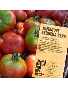 Semillas Ecológicas Tomate Espalda Verde LES REFARDES - 1