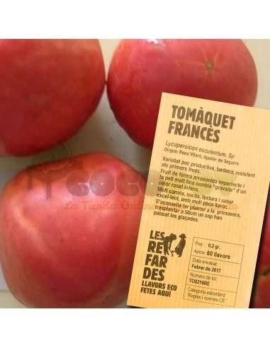 Semillas Ecológicas Tomate Francés LES REFARDES - 1