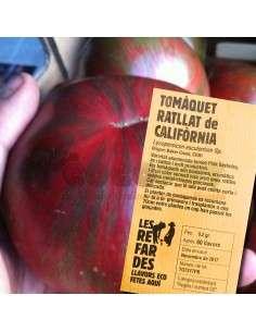 Semillas Ecológicas Tomate Rallado de California LES REFARDES - 1
