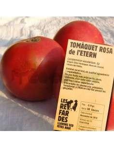 Semillas Ecológicas Tomate Rosa de l'Etern LES REFARDES - 5