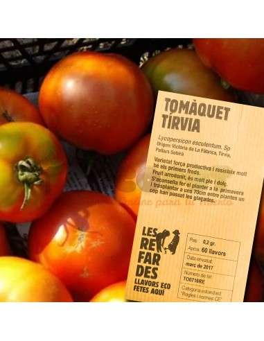 Semillas Ecológicas Tomate Tírvia LES REFARDES - 1