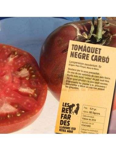 Semillas Ecológicas Tomate Negro Carbón LES REFARDES - 1