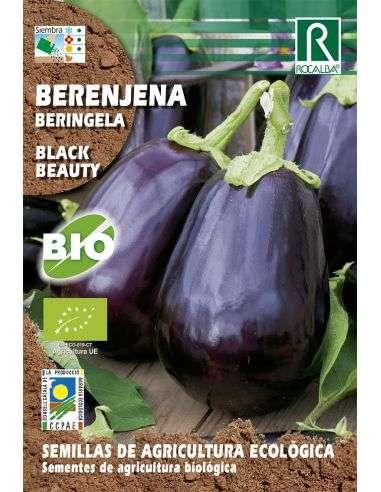 Semillas Ecológicas de Berenjena Black Beauty Rocalba - 1