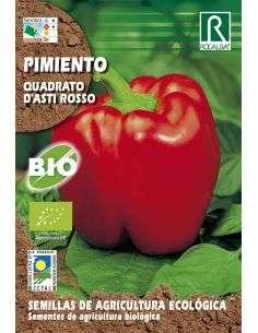 Semillas Ecológicas de Pimiento Quadrato d'asti Rosso Rocalba - 1