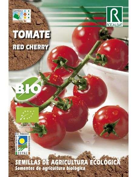 Semillas Ecológicas de Tomate Red Cherry Rocalba - 1