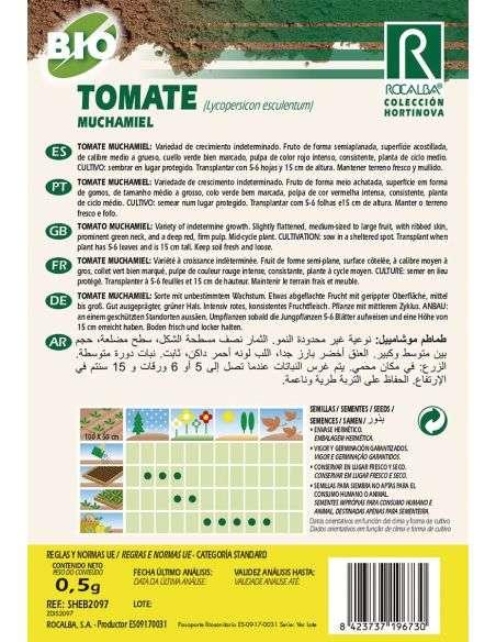 Semillas Ecológicas de Tomate Muchamiel Rocalba - 2