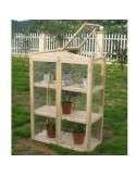Invernadero madera de 120x48x150cm.