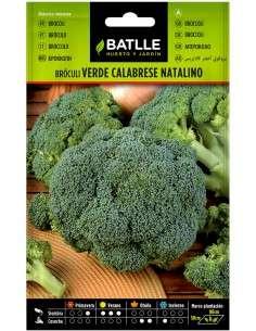 Semillas de Bróculi Verde Calabrese Brócoli