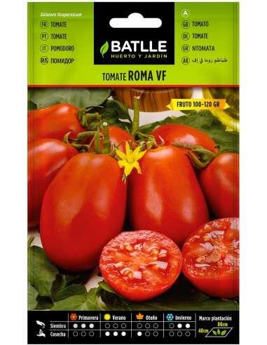 Semillas Tomate Roma VF 2,5g.