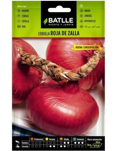 Semillas de Cebolla Roja de Zalla 4g.