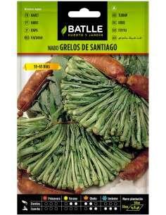 Semillas de Grelos de Santiago 15g.