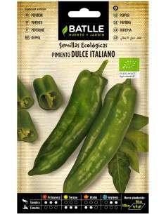 Semillas de Pimiento Dulce Italiano Ecológico