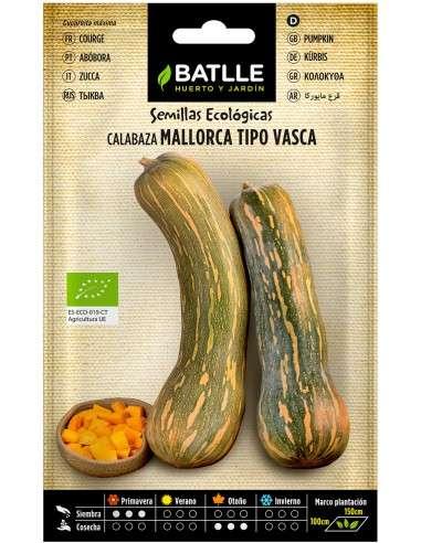 Semillas de Calabaza Vasca Mallorca Sel.Marina