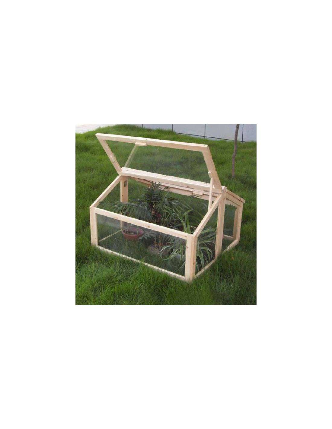 Invernadero madera tipo casita para huerto y jard n de for Invernaderos de jardin