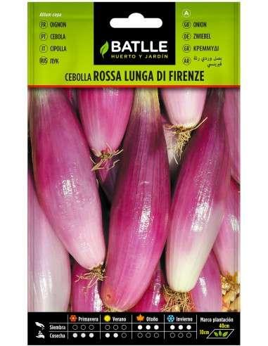 Semillas de Cebolla Rosa Lung Firenza 2g.