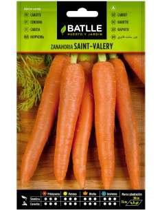 Semillas de Zanahoria muy precoz Saint Valery 10g.