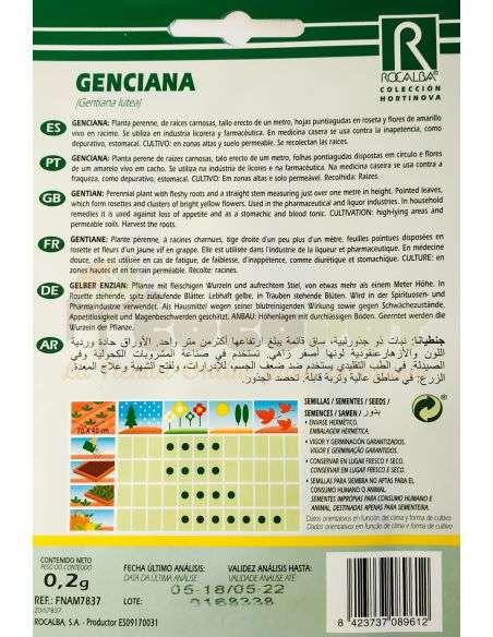 Semillas de Genciana