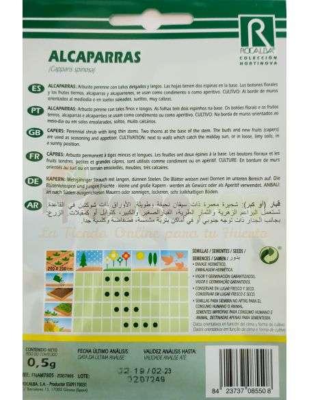 Semillas de Alcaparras