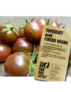 Semillas Ecológicas Tomate Cereza Negra