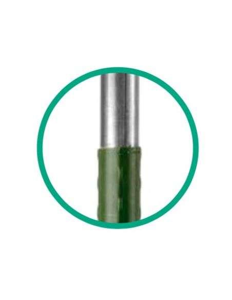 50u. Tutores Acero plastificado 150cm x 16mm