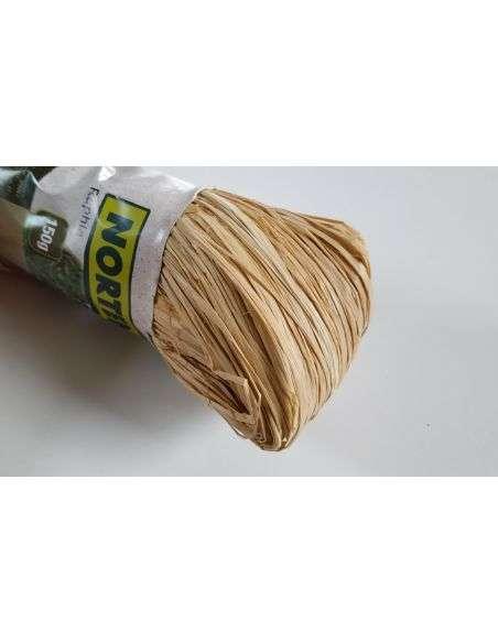 Atadura rafia natural 150g.