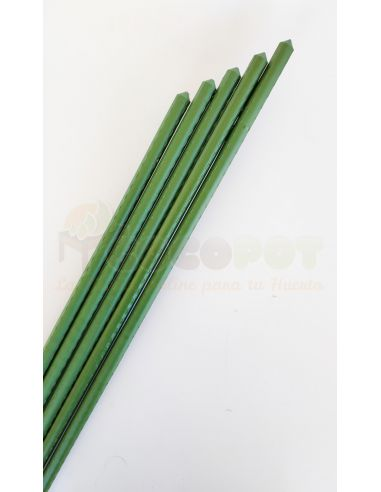 50u. Tutores Acero plastificado 180cm x 16mm